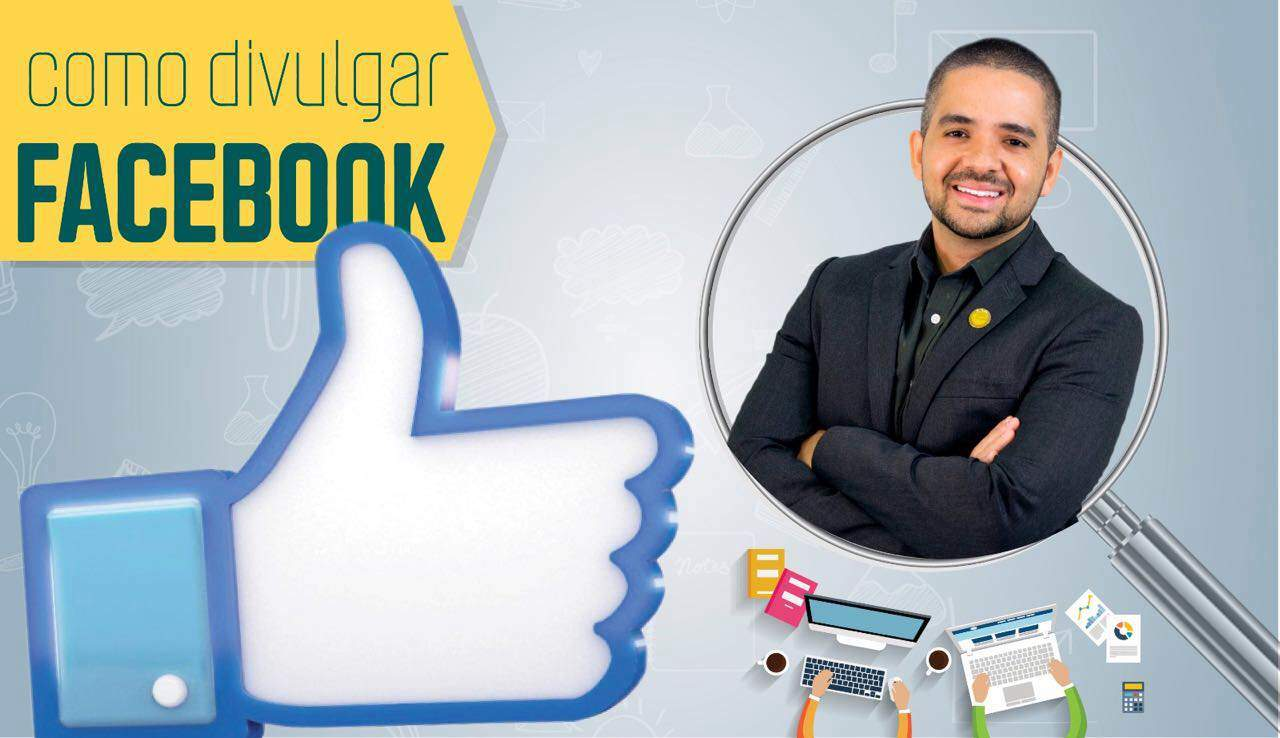 Como divulgar no Facebook